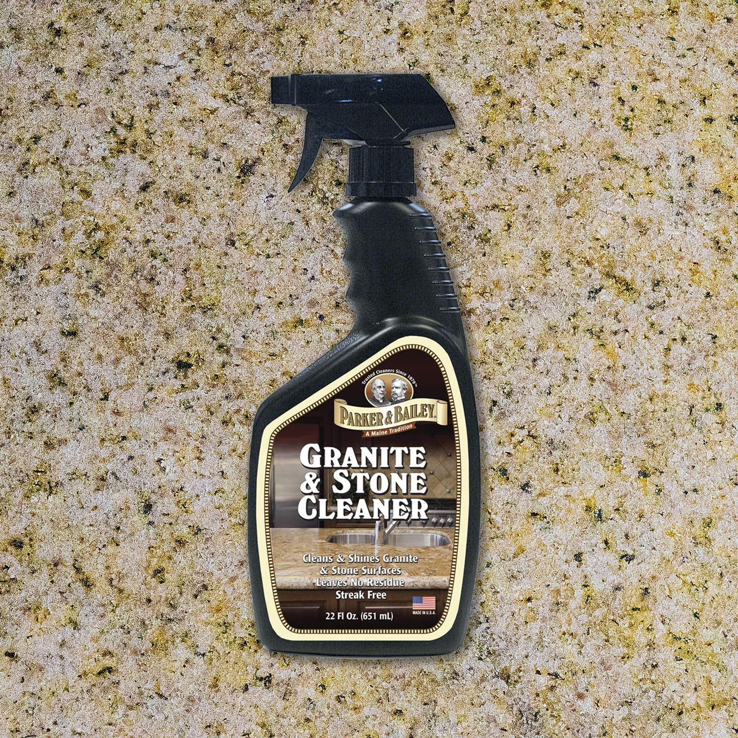 Parker and Bailey- Granite & Stone Cleaner Bundled with Kitchen Cabinet Cream by Parker & Bailey (Image #4)