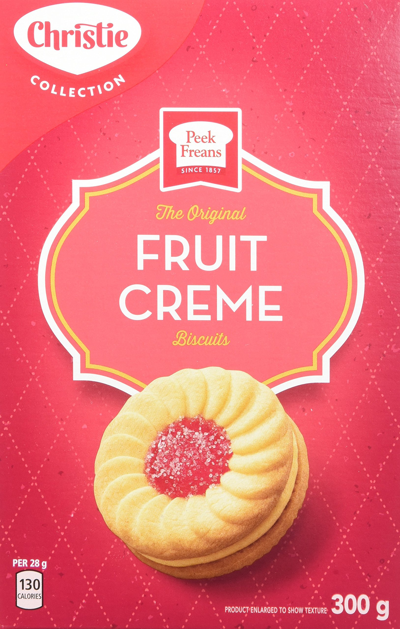 Peek Freans Fruit Crème 300g/10.6oz {Imported from Canada} by Christie