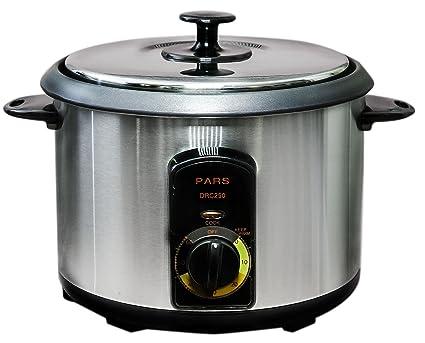 c9ec34e8aeb Amazon.com  Pars Automatic Persian Rice Cooker (15 Cup)  Kitchen ...