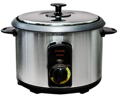 Amazon com: Pars Automatic Persian Rice Cooker (15 Cup