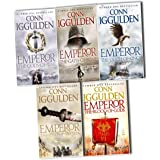 Conn Iggulden Emperor Series, 5 Books Collection Pack Set RRP: £40.95 (The Gods of War, The Gates of Rome, The Death of Kings