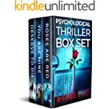 Miranda Rijks' Psychological Thriller Box Set: A nerve-shredding, up-all-night psychological thriller box set