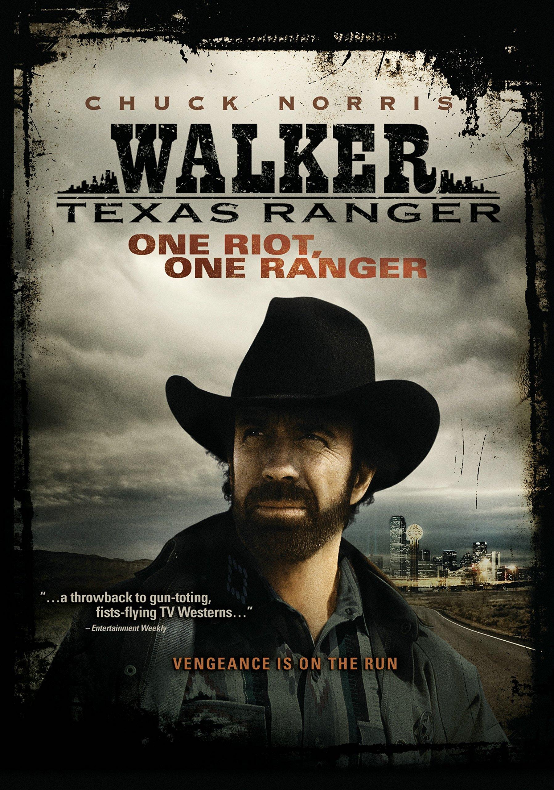 DVD : Walker Texas Ranger: One Riot One Ranger (Full Frame, , Sensormatic)