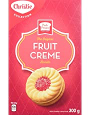 Peek Freans Fruit Creme Biscuits, 1 Box (300g)