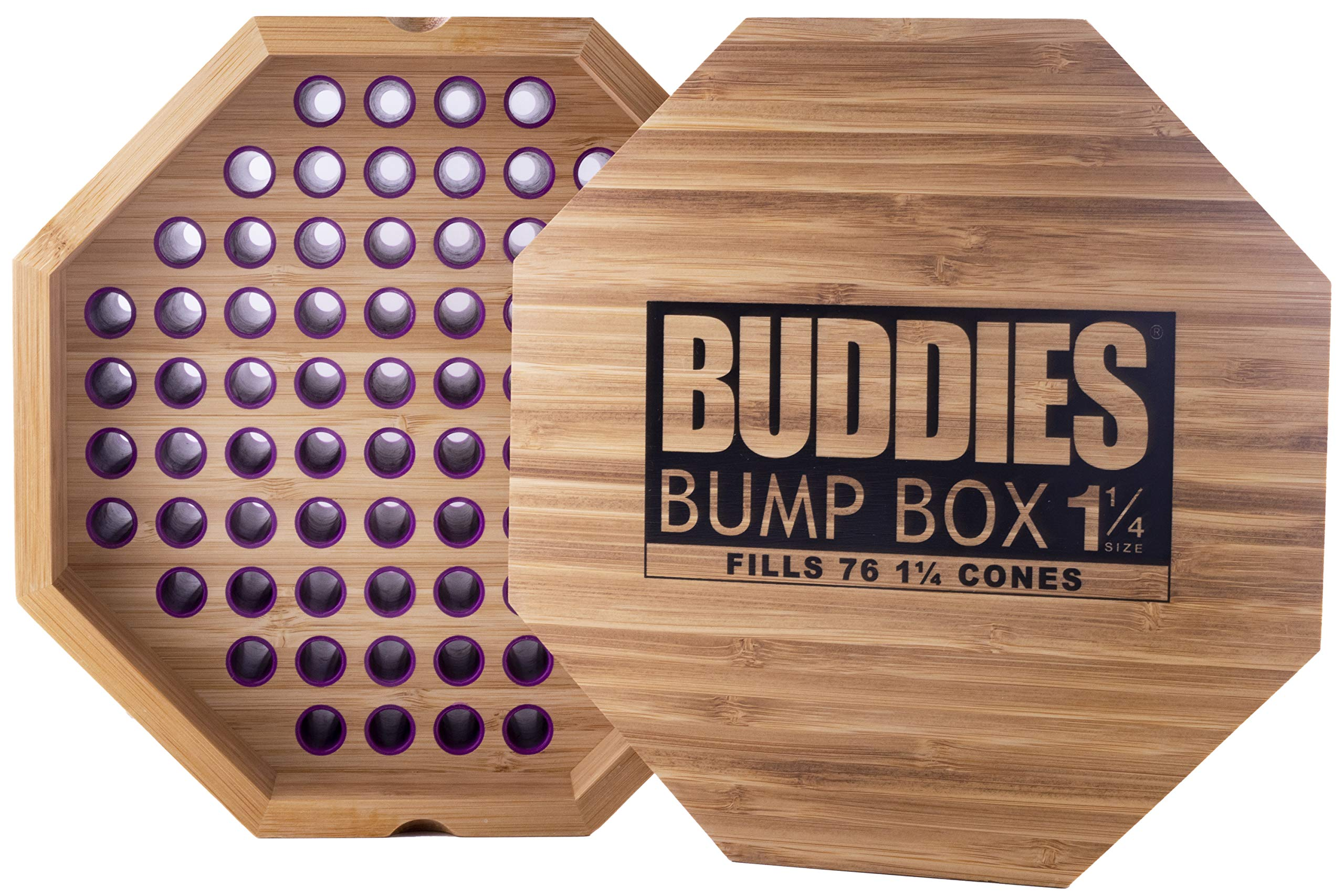 Buddies Bump Box Filler for 1 1/4 Size Cones - Fills 76 Cones Simultaneously by Buddies