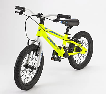82c5cc32b3b Amazon.com : Stampede Bikes Sprinter Kids Bike, 16 Inch, Yellow : Sports &  Outdoors