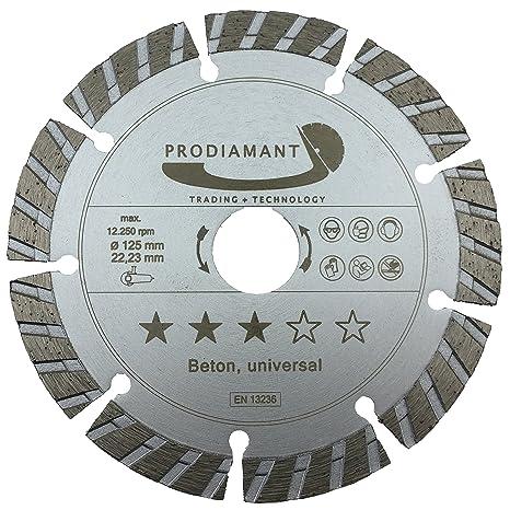Disco de corte diamante hormigón / universal Turbo - 125 x ...