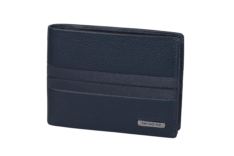 0 Liters 2 Compartments Tarjetero Azul Night Blue//Black Billfold for 7 Creditcards Spectrolite SLG 13 cm