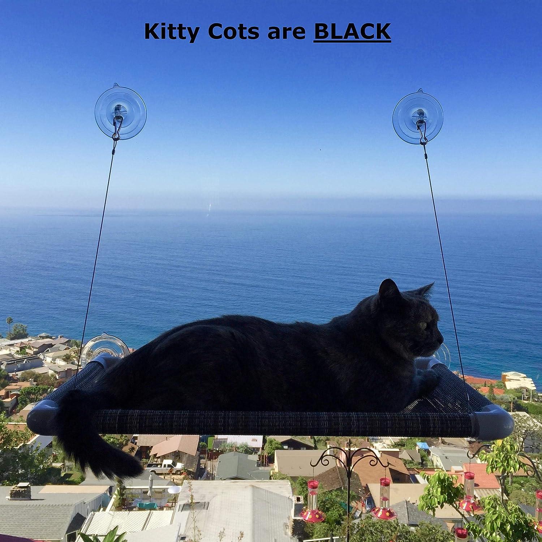Kitty Cot Original World's Best Cat Perch (Large) : Pet Window Perches : Pet Supplies