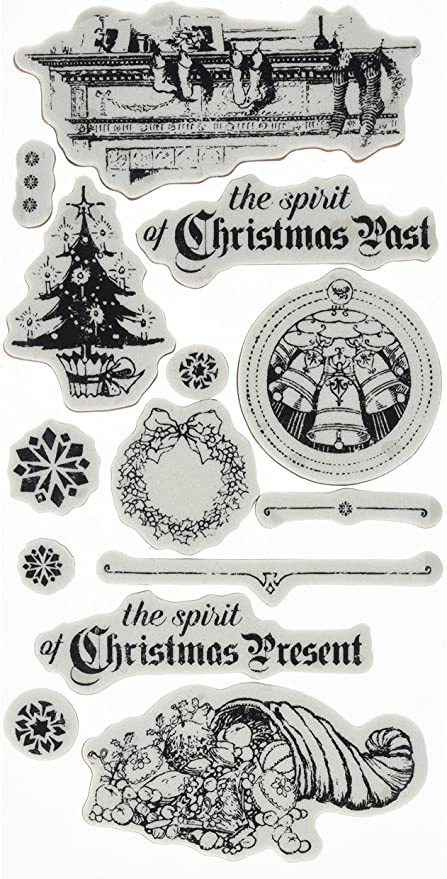 alpha-grp.co.jp Graphic 45 TWAS The Night Before Christmas Cling ...