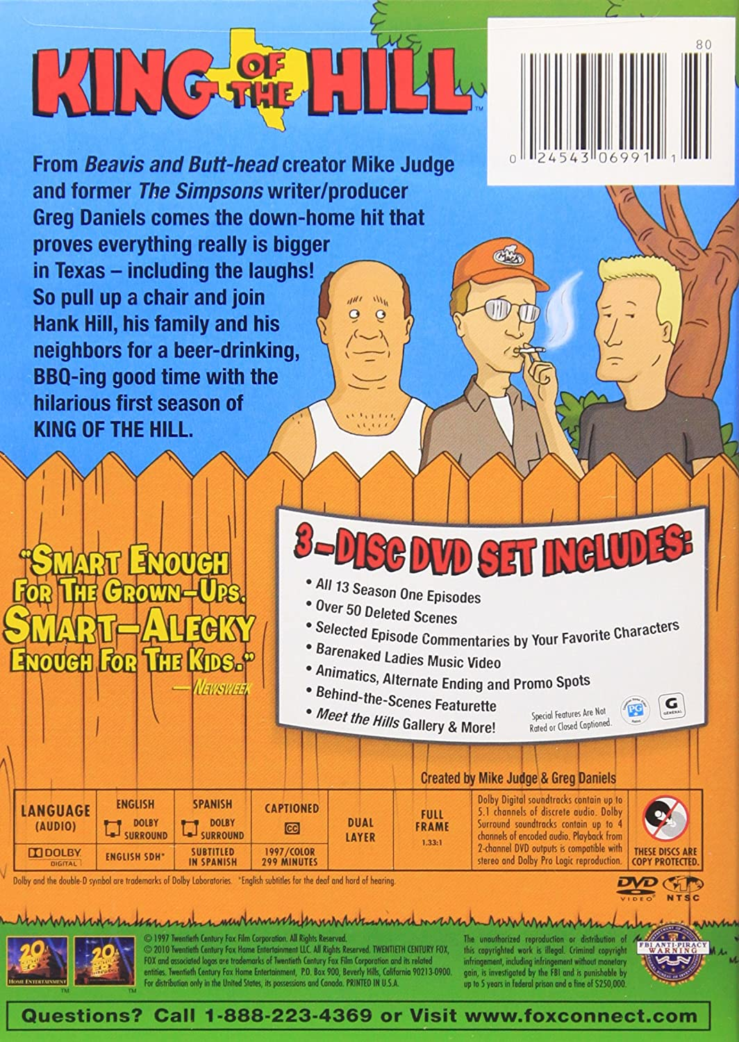 Amazon.com: King of the Hill - The Complete First Season: Mike Judge ...