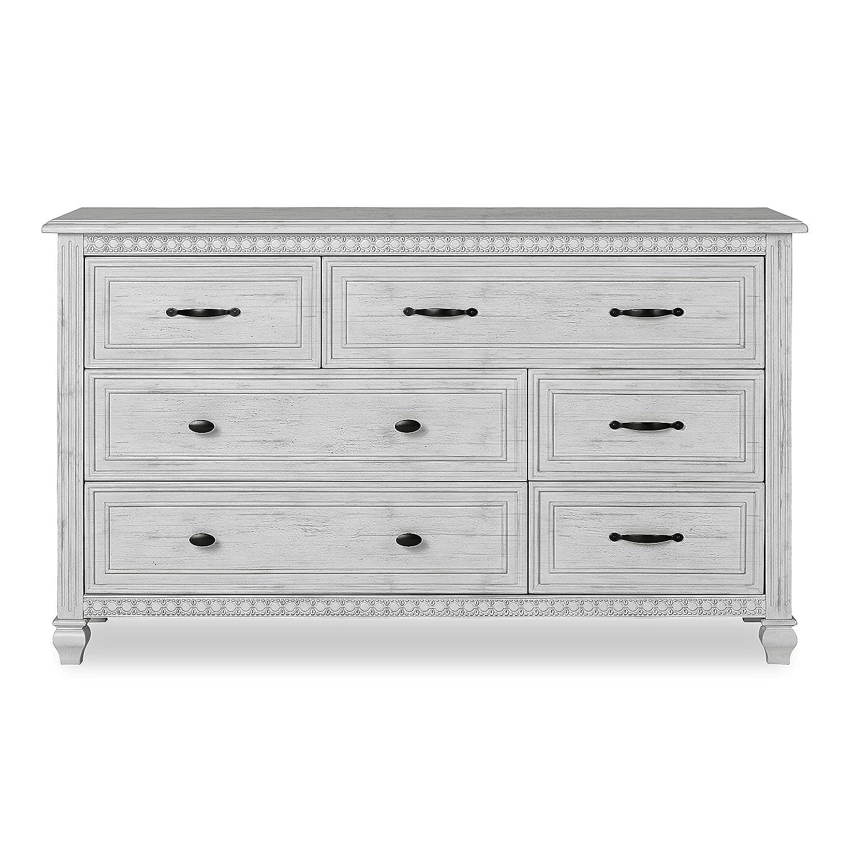 Evolur Madison Double Dresser, Antique Grey Mist : Baby