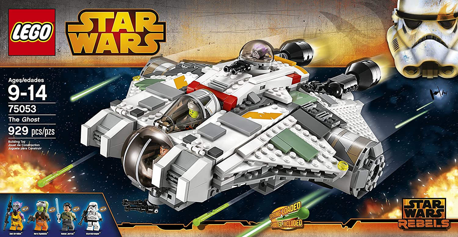 Amazon Com Lego Star Wars 75053 The Ghost Building Toy Discontinued By Manufacturer Toys Games