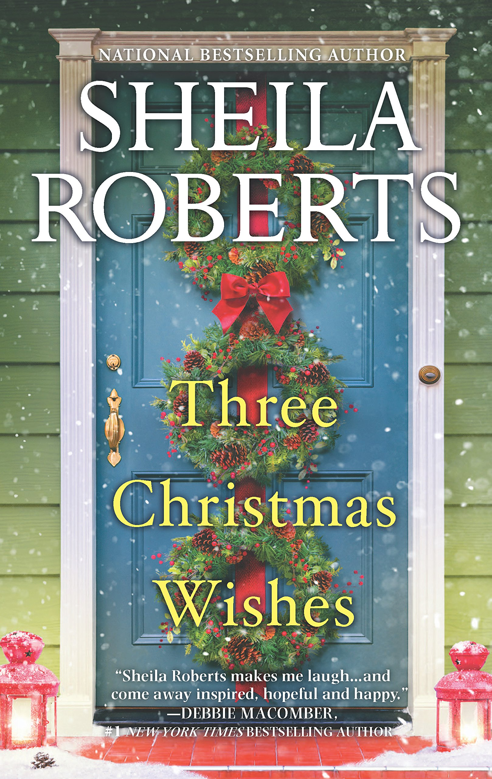 three christmas wishes sheila roberts 9780778319696 amazon com books