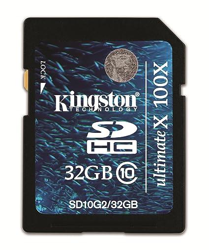 Kingston KISDHC1032GB - Tarjeta de Memoria SecureDigital de 32 GB
