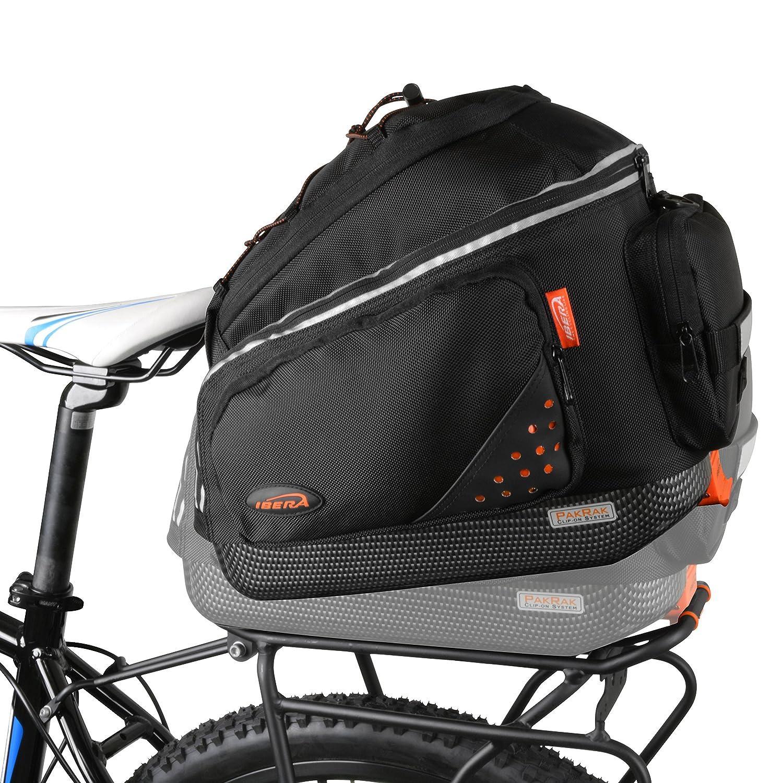 Amazon.com: Ibera Bike PakRak - Juego de bolsa de transporte ...