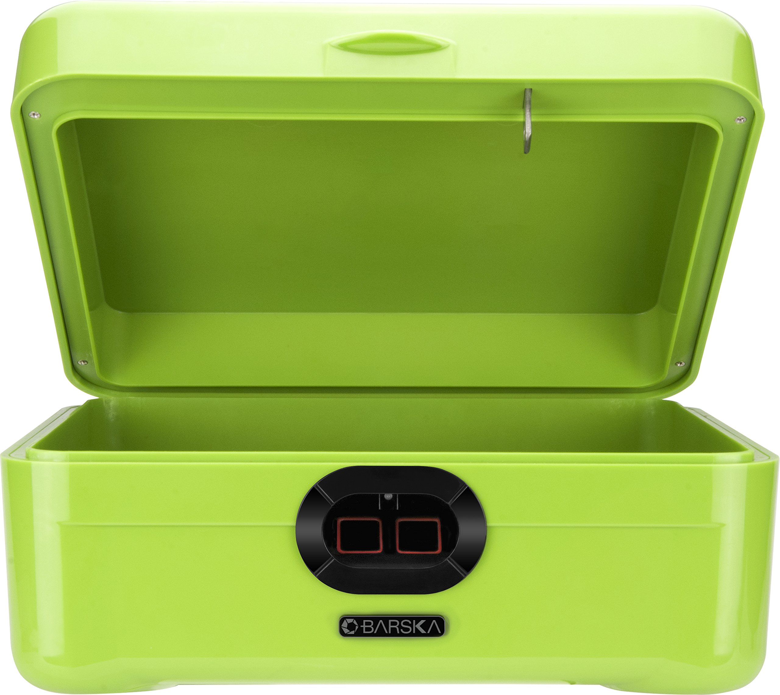 winbest Dual Biometric Quick Access Portable Fingerprint Secure Safe Box