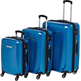 Samsonite Winfield 3 DLX Hardside Expandable Luggage with Spinners, Blue/Navy, Carry-On 20-Inch