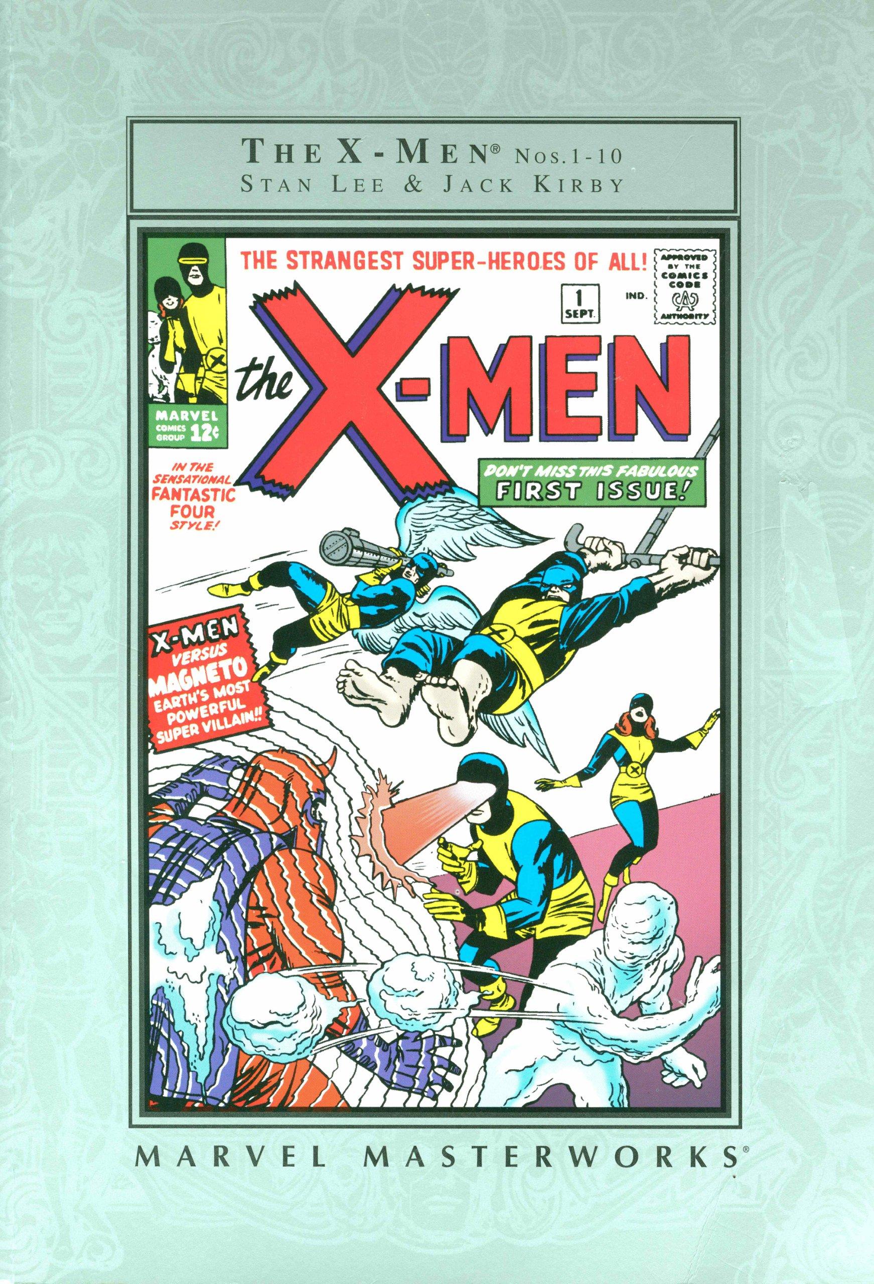 The X-men Nos. 1- 10 (Marvel Masterworks, Volume 1) PDF