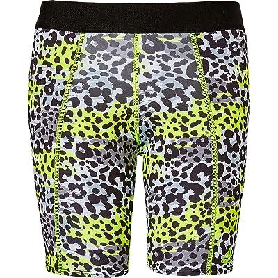 adidas Girls' Destiny Printed Sliding Shorts