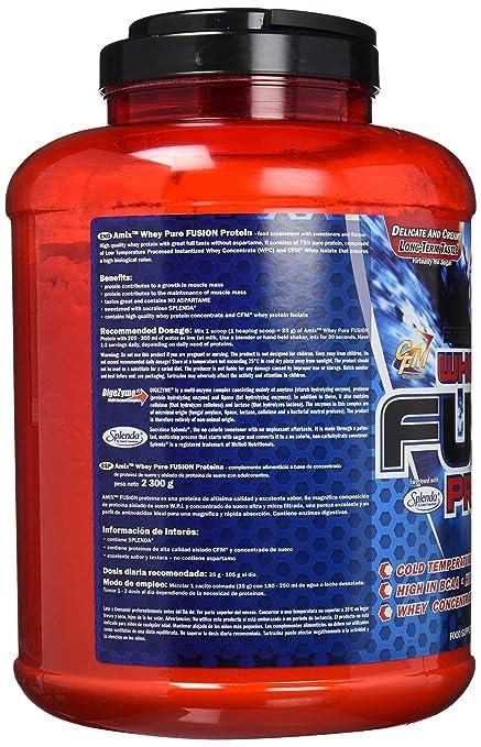 Amix Whey Pure Fusion 2,3 kg - Sabor - Manzana-Canela