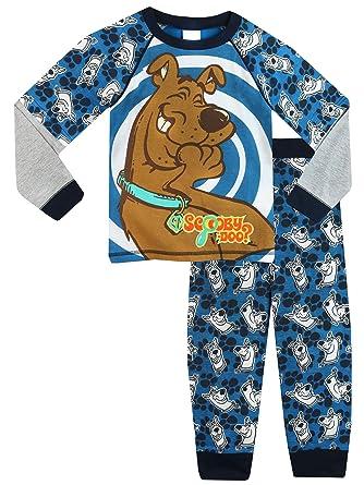 e6e78f5b76 Scooby Doo Boys Pyjamas Ages 3 to 12 Years  Amazon.co.uk  Clothing