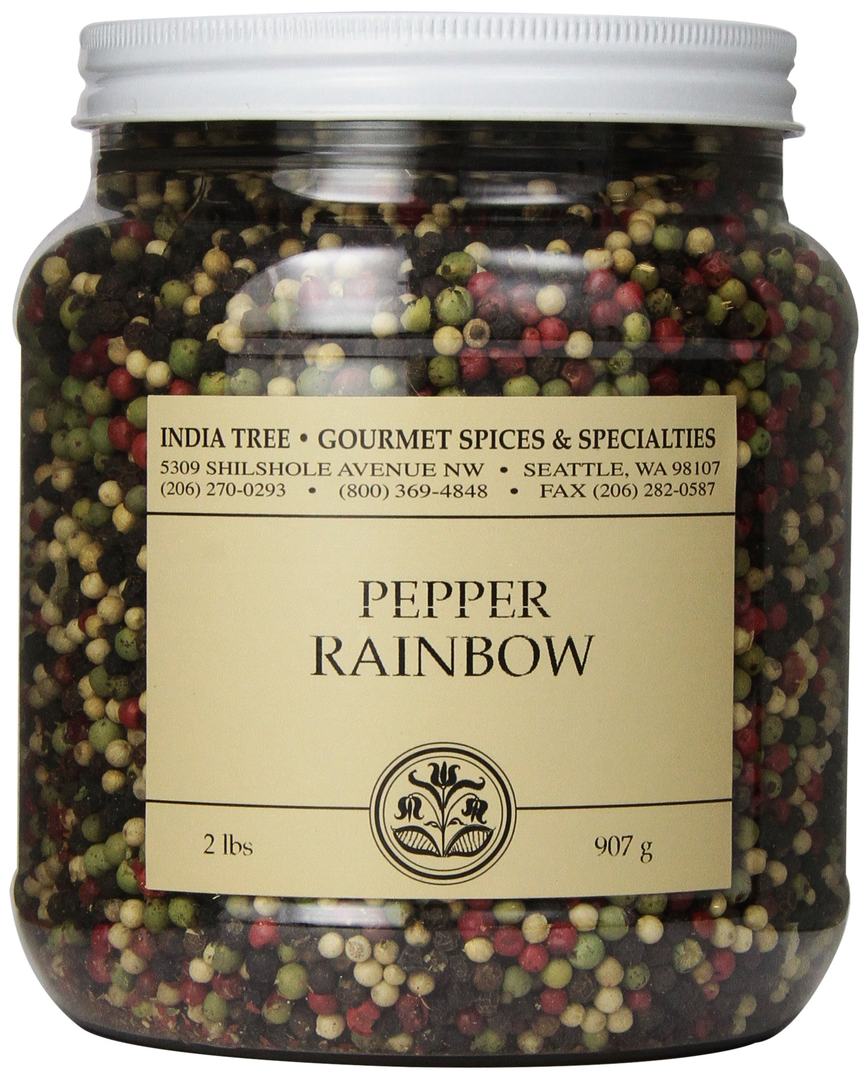 India Tree Pepper Rainbow, 2 lb