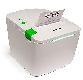 Impresora térmica de tíquets Ethernet Hiopos para punto de ...