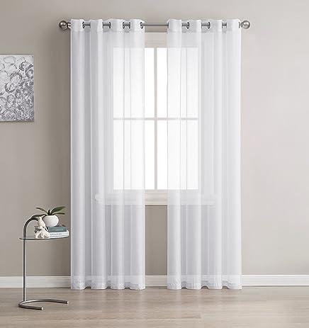 White Sheer Curtains 84 Curtain Menzilperde Net