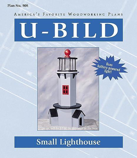 U Bild 908 2 U Bild 2 Small Lighthouse Project Plan Lighthouses Magazine Amazon Com