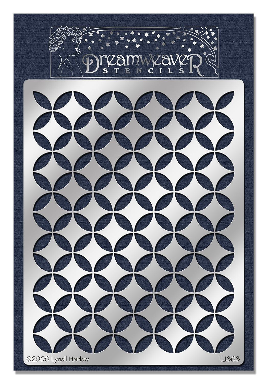 Stampendous Dreamweaver Stencil Cathedral Windows//Lrg
