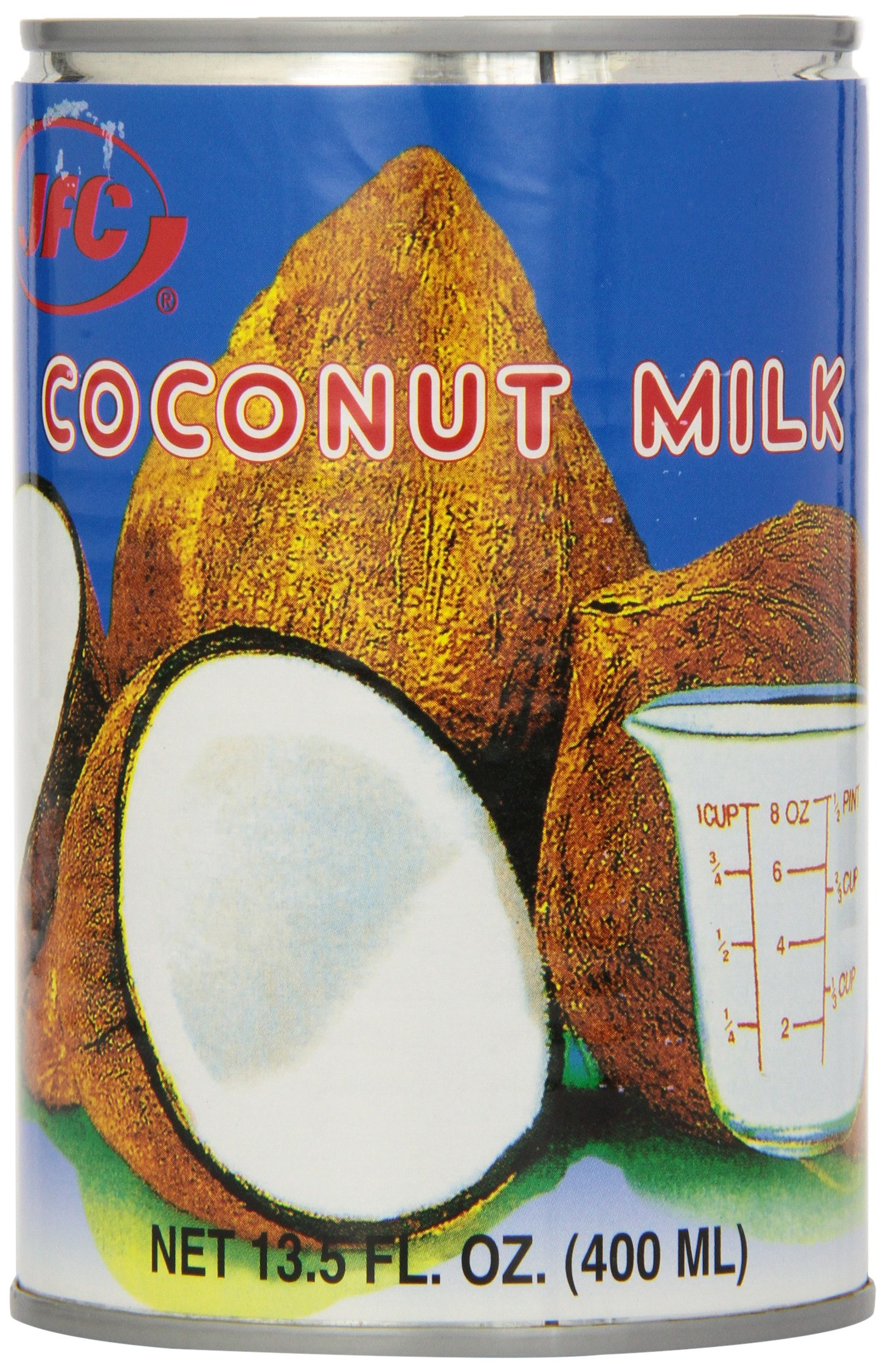 JFC Coconut Milk, 13.5-Ounce (Pack of 12)