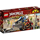 LEGO Ninjago Kai's Blade Cycle & Zane's Snowmobile 70667 Building Toy