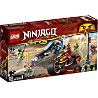 LEGO NINJAGO 70667 Kais Feuer-Bike & Zanes Schneemobil
