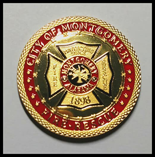 City of Boise Fire Department Challenge Coin