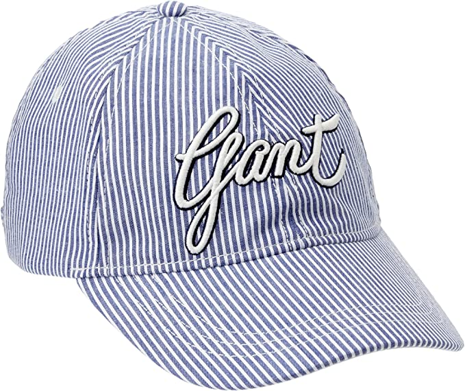 Gant Signature Banker Stripe Cap Gorra de béisbol, Blau (Capri ...