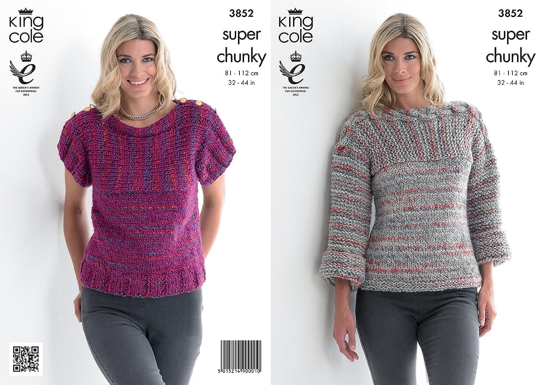 King Cole chunky   women sweater patterns