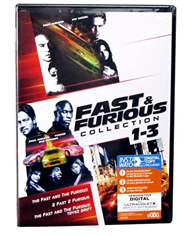 Amazon.com: Fast and Furious Movies 1-5 (The Fast and the Furious, 2 Fast 2 Furious, the Fast and the Furious: Tokyo Drift, Fast & Furious, Fast Five) - A ...
