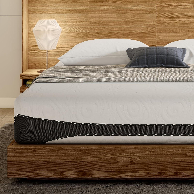Signature Sleep Mattress, Queen Mattress, 12 Inch Hybrid Cool Gel Mattress, Queen