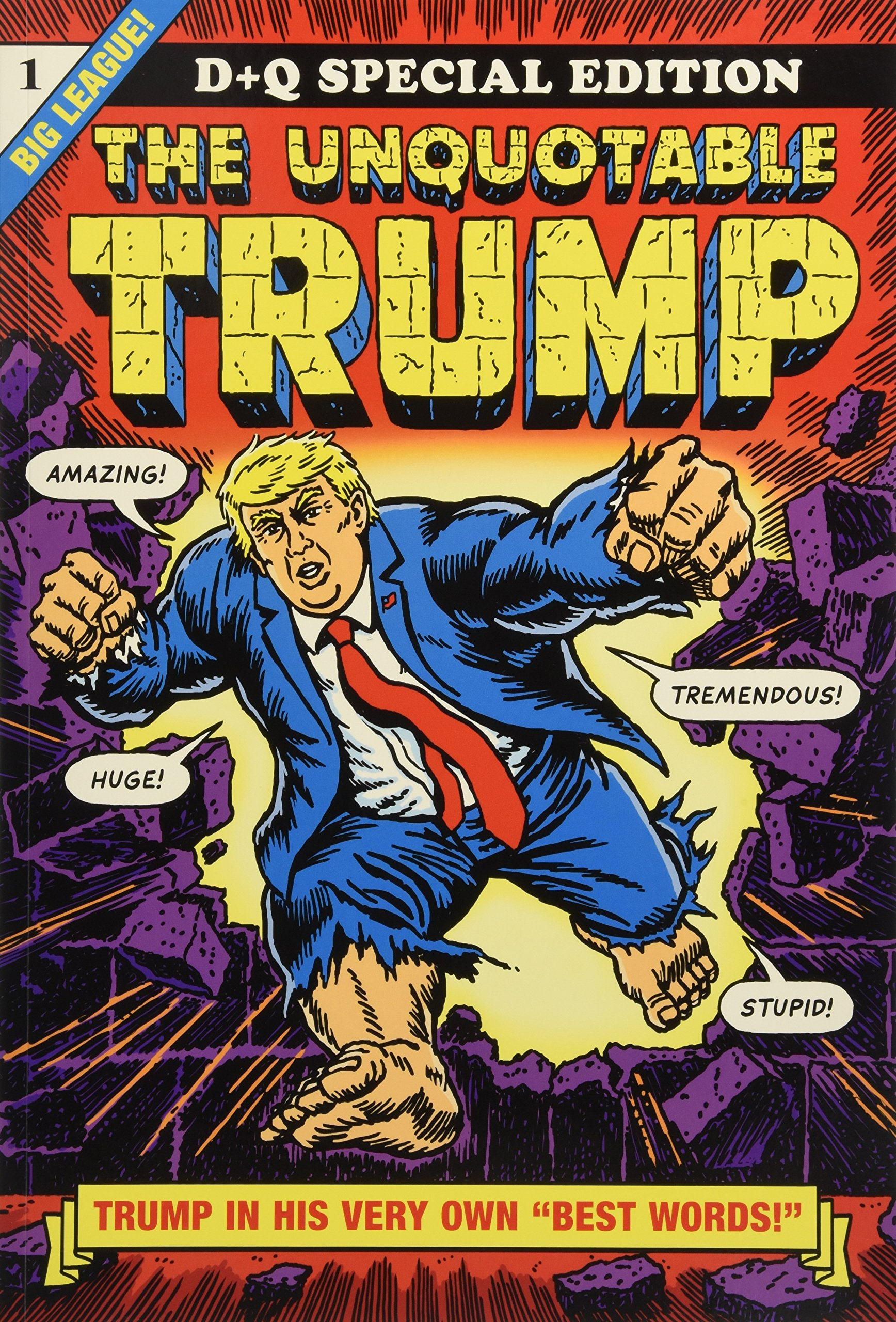 The Unquotable Trump: Amazon.de: Sikoryak, R.: Fremdsprachige Bücher