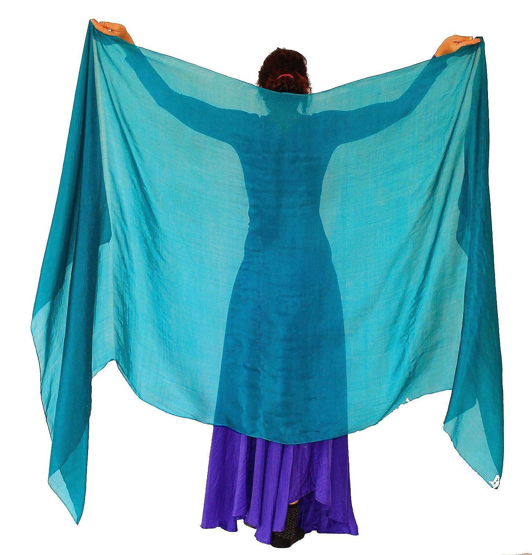 Nahari Silks APPAREL レディース B077C5R9PN 3L|Emerald TEal Emerald TEal 3L