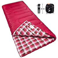 Amazon.com deals on Reisen 0 Degree Celsius Cold Weather Sleeping Bag