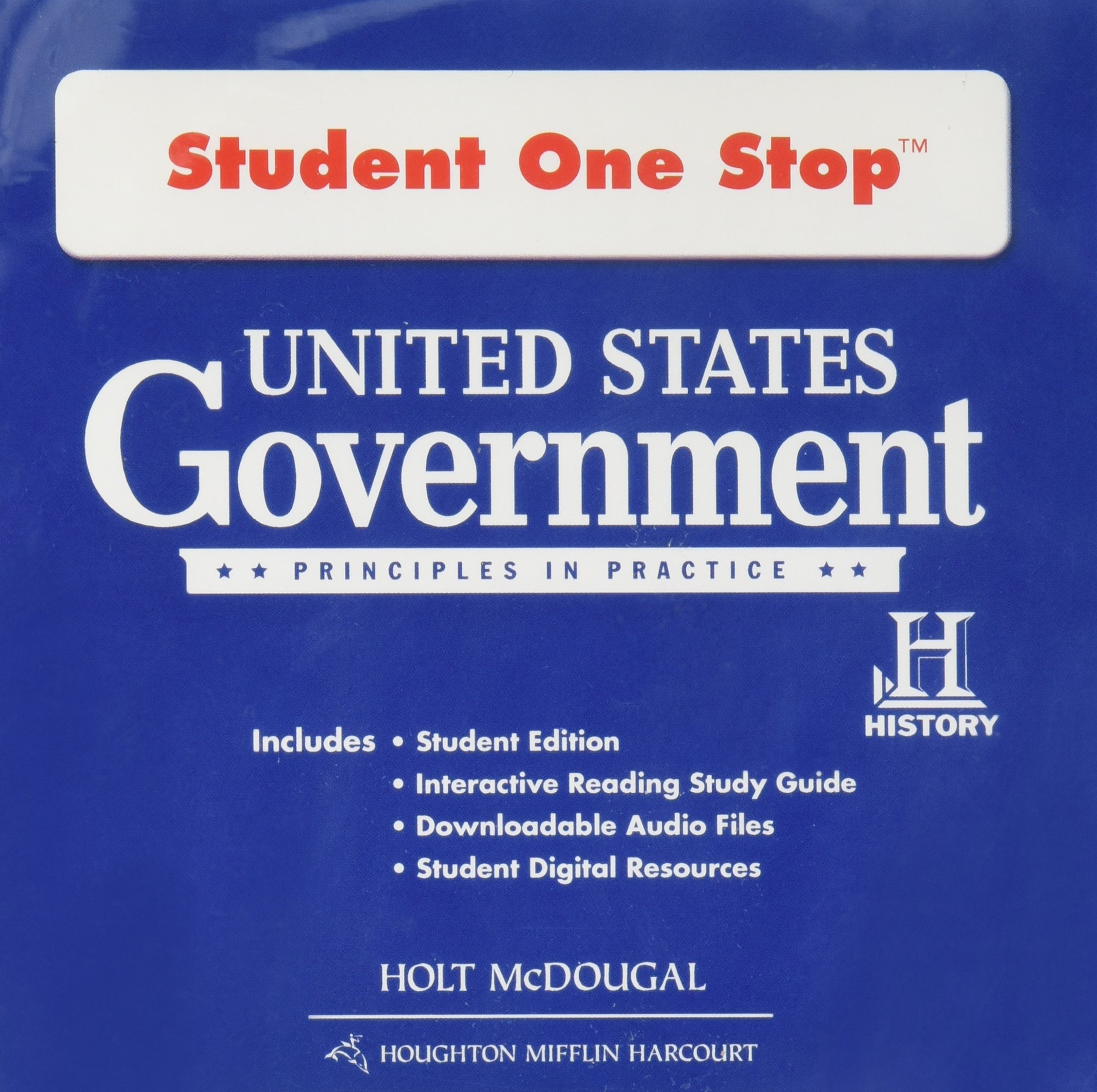 Amazon.com: United States Government: Principles in Practice: Student One  Stop DVD-ROM 2012 (9780547520513): HOLT MCDOUGAL: Books