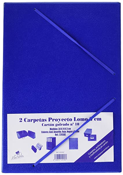 Mariola 944830 - Blue Cardboard Project Box, Spin: 30mm