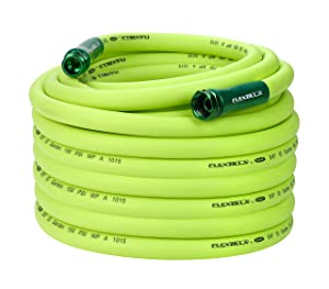 Flexzilla Garden Lead-in Hose 5/8 in. x 100 ft, 100' (feet) HFZG5100YW