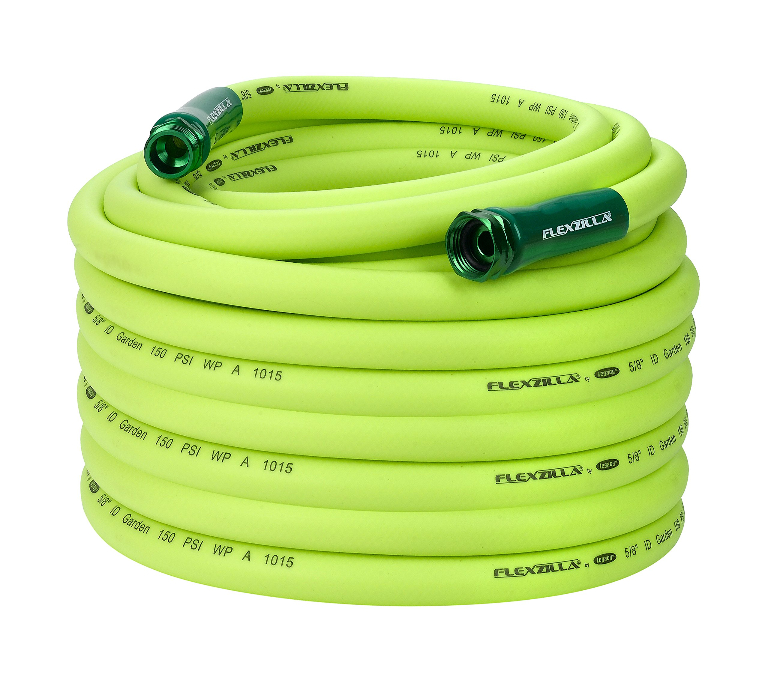 Flexzilla Garden Hose, 5/8 in. x 100 ft, Heavy Duty, Lightweight, Drinking Water Safe - HFZG5100YW