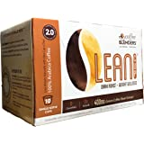 Coffee Blenders Lean 2.0 Single Serve Cups 10 Count with All Natural Green Bean Coffee Extract for Weight Loss