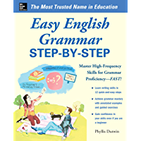 Easy English Grammar Step-by-Step: With 85 Exercises (Easy Step-by-Step Series)