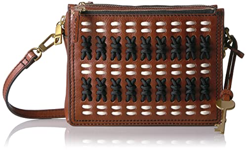 Fossil Cambell Crossbody Brown Multi