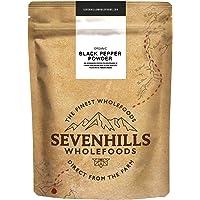 Sevenhills Wholefoods Pimienta negra orgánica en polvo 500g